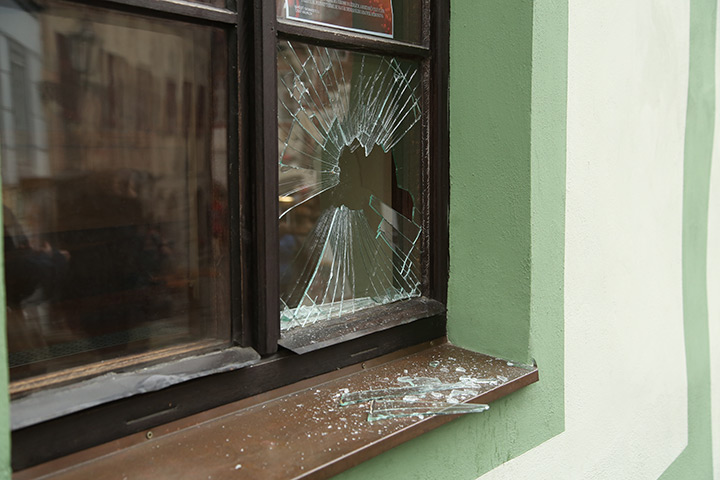 A2B Glass are able to board up broken windows while they are being repaired in Spelthorne.